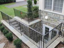 Beautiful Basement Exit Door & Stonework for NJ, PA, and DE Homes