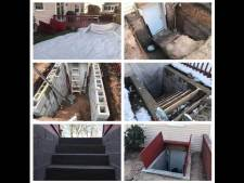 Basement Entrance / Exit Installation