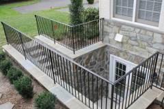 Beautiful Basement Exit Door & Stonework for NJ, PA, and DE Homes