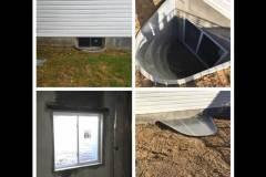 Basement Emergency Exit Installation