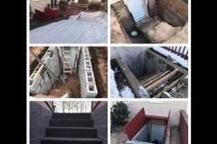 Basement Entrance / Exit Installation
