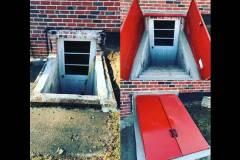 Basement Entrance & Exit Doors