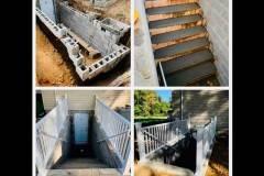 Basement Door & Steps Installation in NJ, DE, PA
