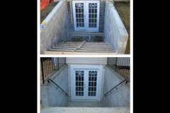 New Exit Basement Door Installation