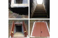 Basement Entrances & Exit Doors