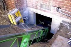 Basement Lowering Dirt Removal Process