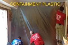 Containment Plastic on our Jobs