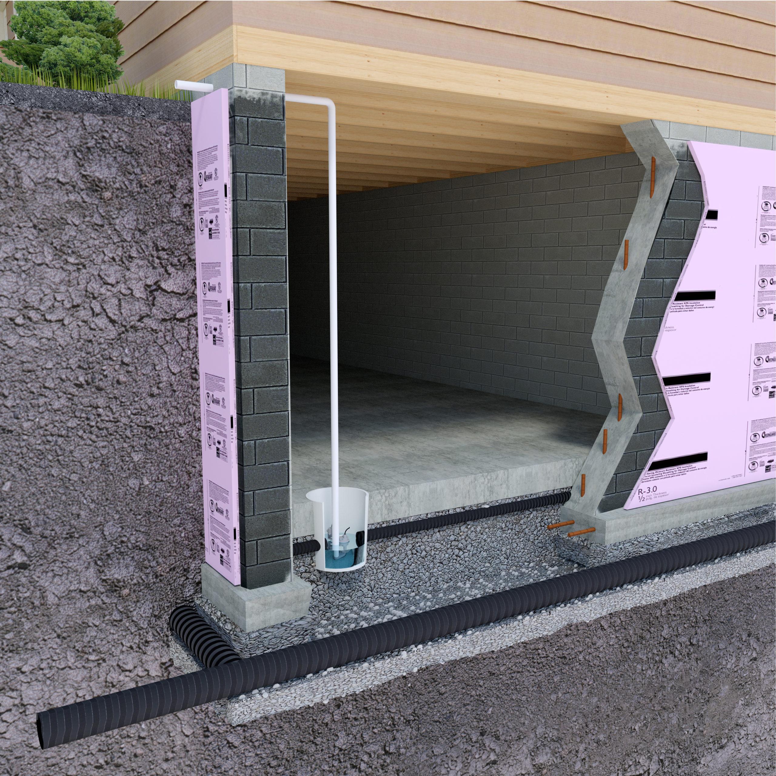 Sump Pump & French Drain Installation